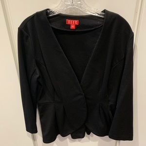 Elle black jacket